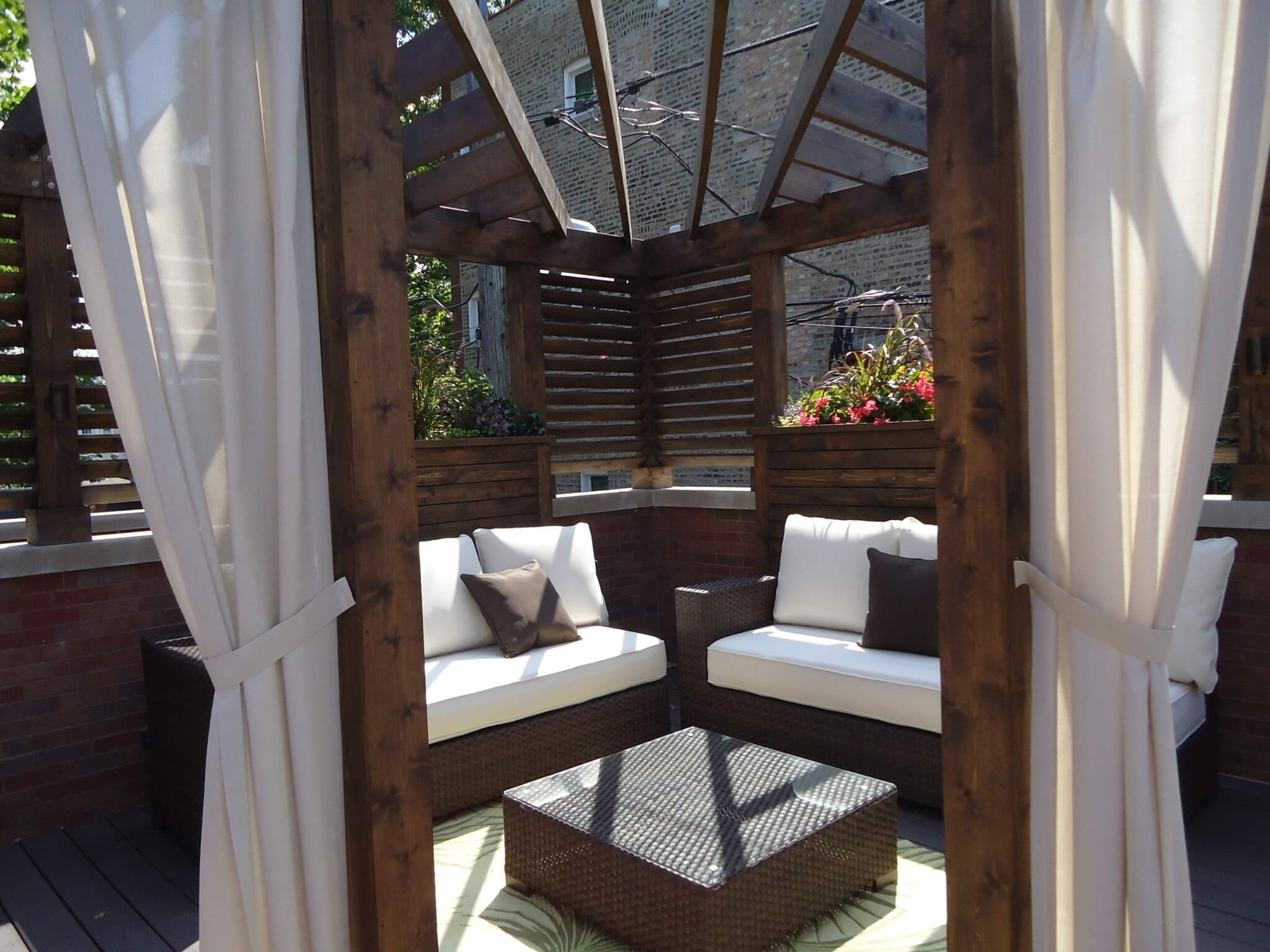 Wood Pergola Chicago