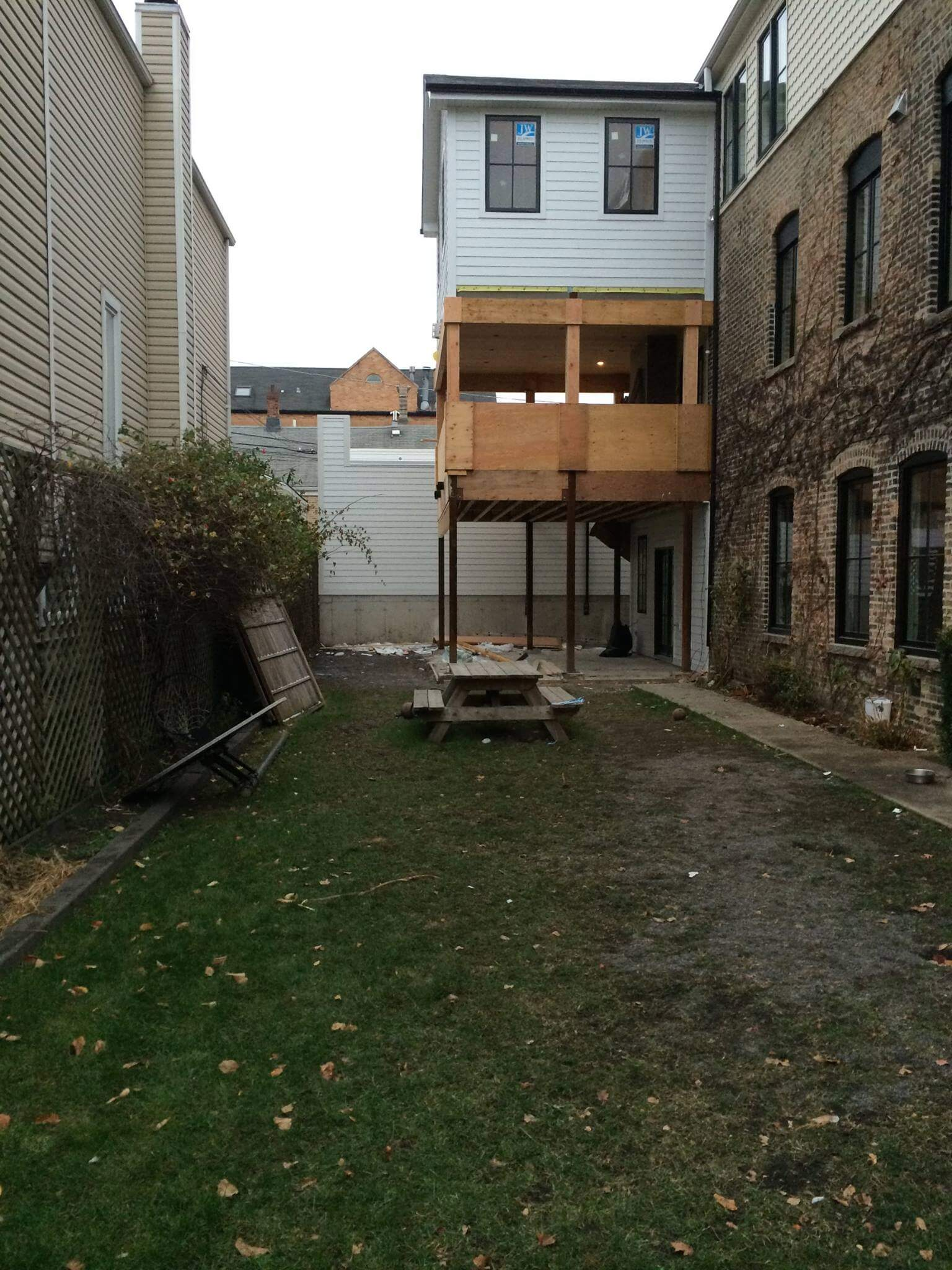 backyard garden lanscaping bucktown chicago