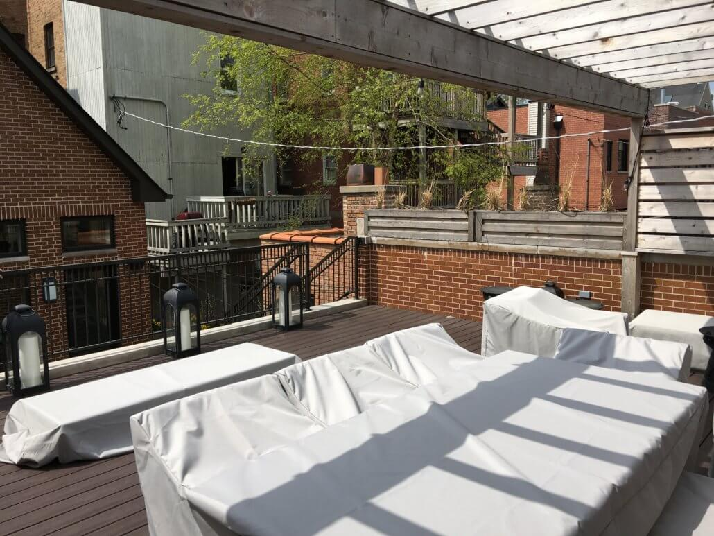 Garage Roof Deck Renovation Lakeview Chicago Il