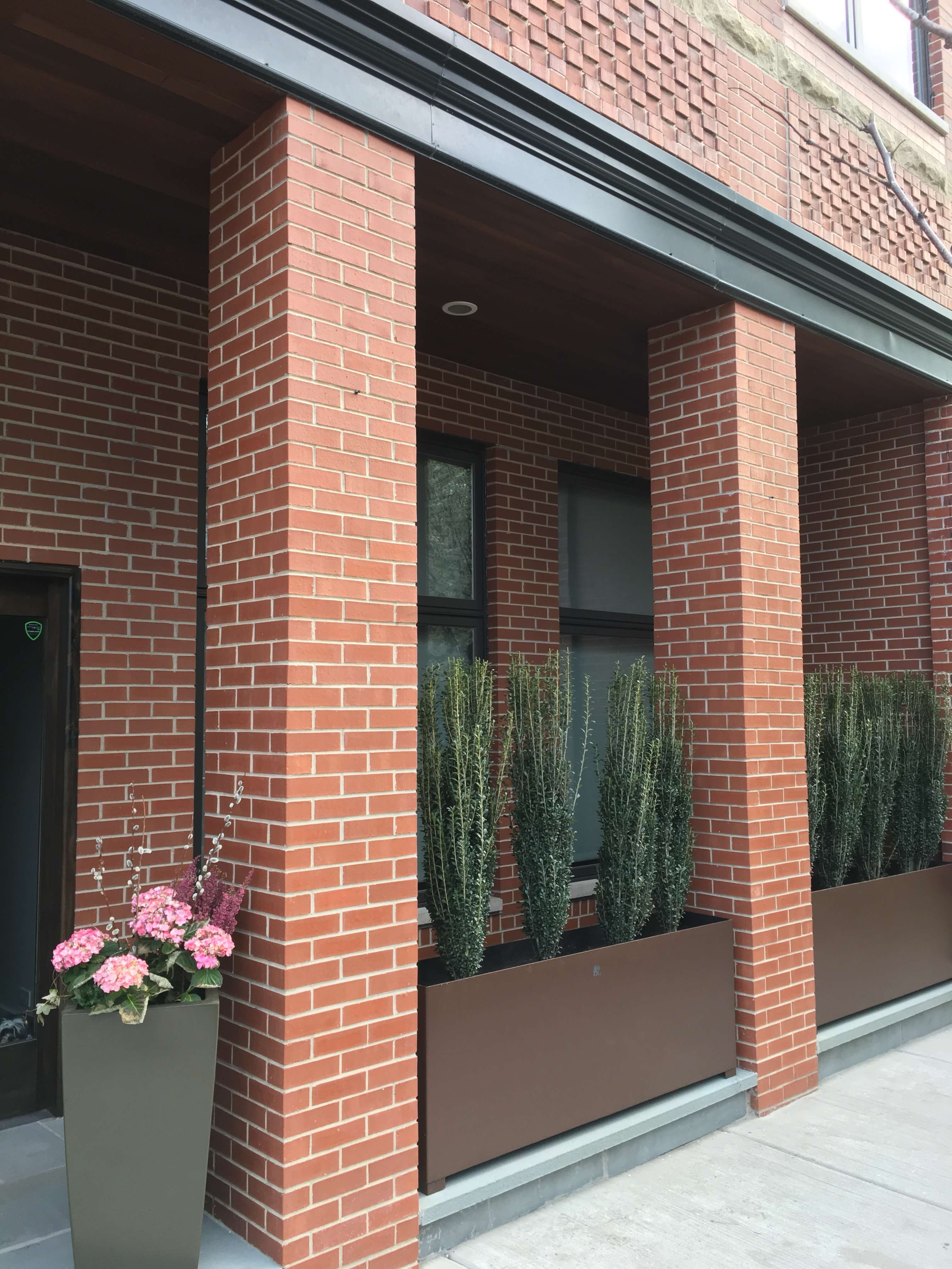 Steel Clay Planters Lakeview Chicago 3