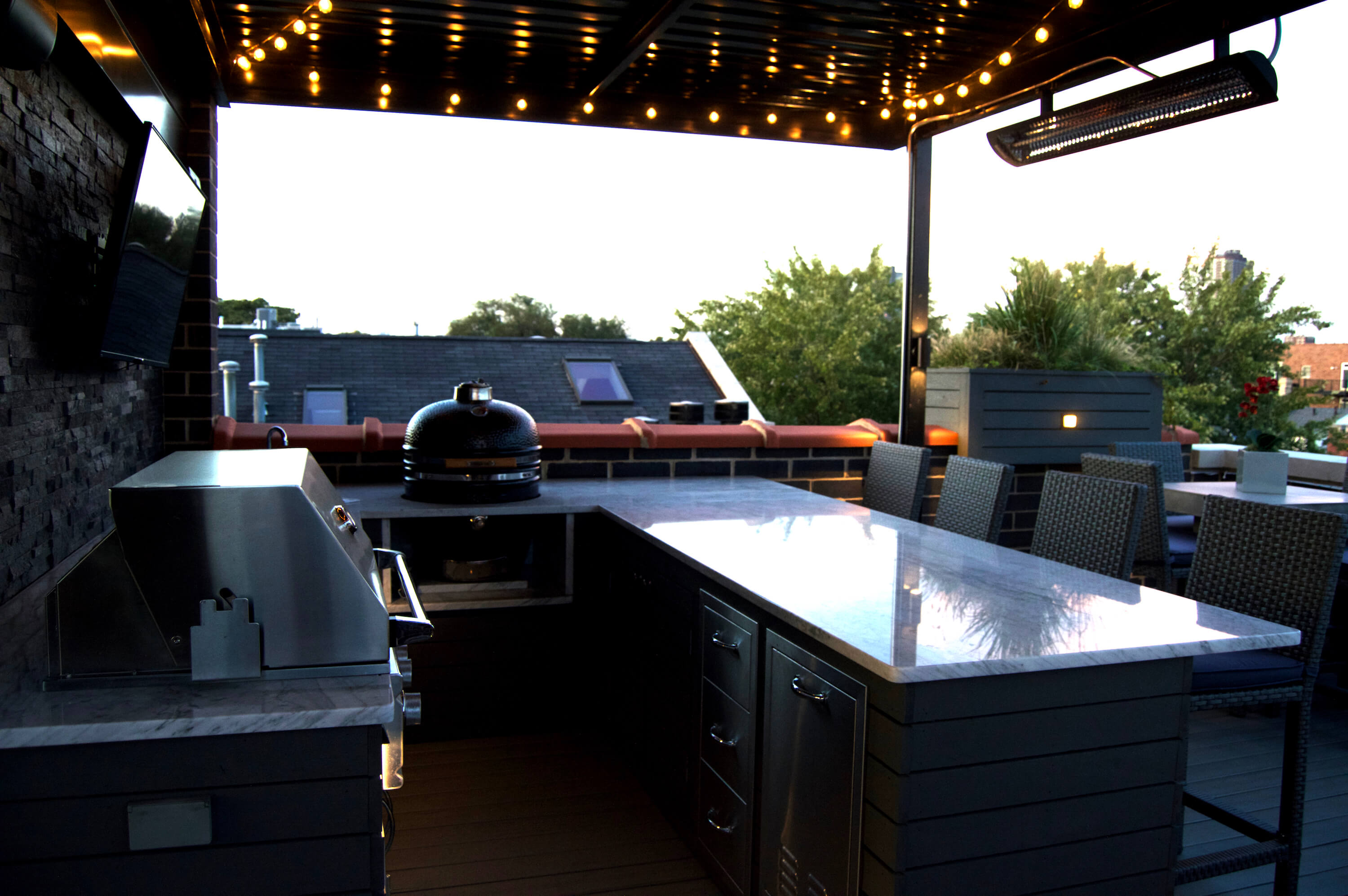 outdoor kitchen and bar chicago