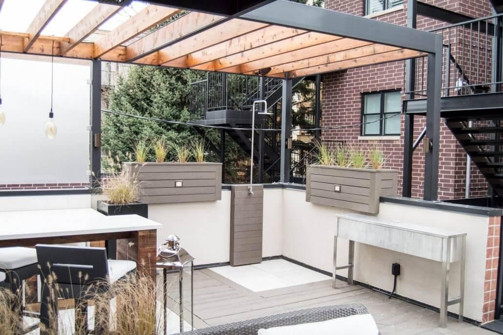 Urban Rooftop Deck