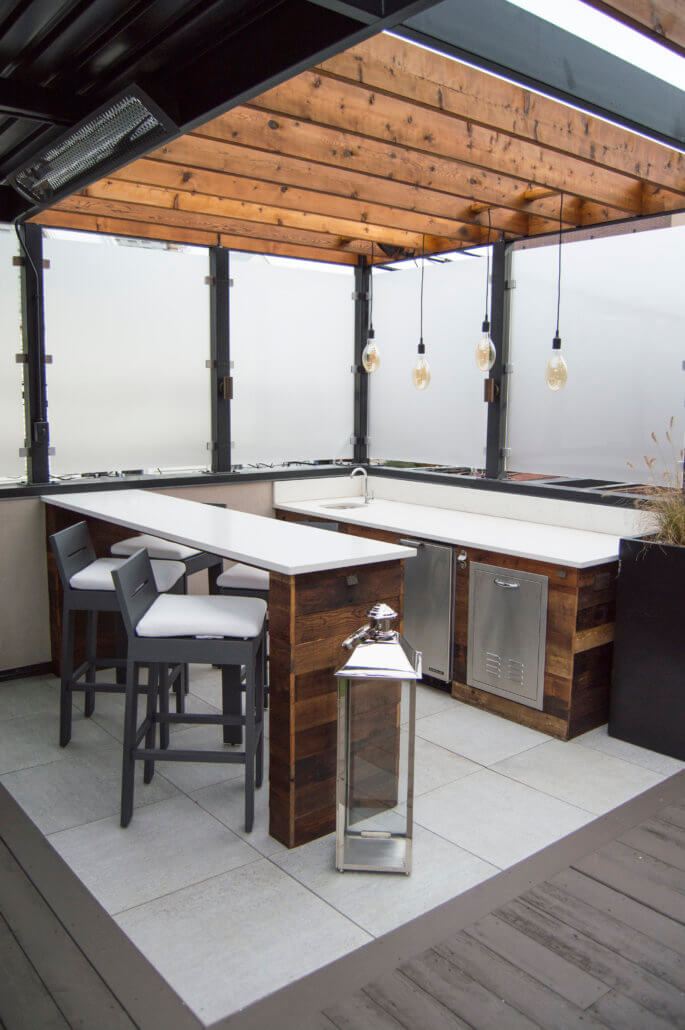 Outdoor Kitchen Patio Pergola
