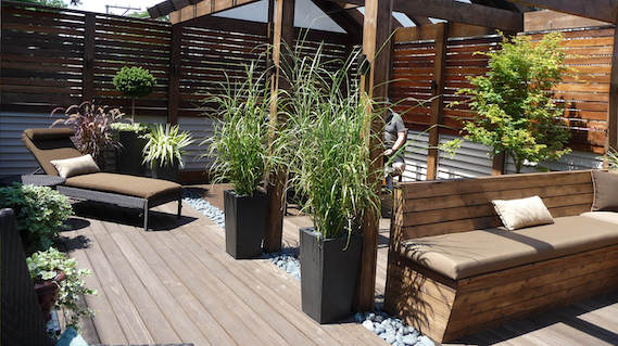 Roof Deck Planters
